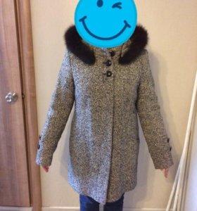 Пальто зимнее женское 44-46