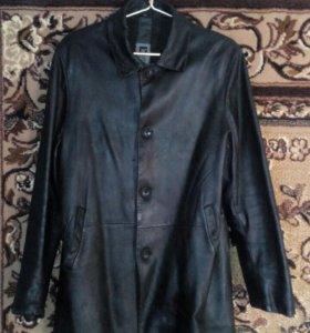 Куртка из чистой кожи