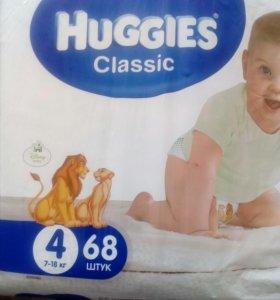 Продам памперсы хаггис