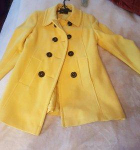 Кошемировое пальто