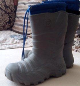 Детская обувь полиуретановые сапоги р.32