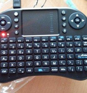 Беспроводная клавиатура новая