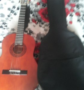 Гитара с зимнем чехлом тел. 89272510334