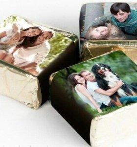 Конфеты с Вашими фотографиями