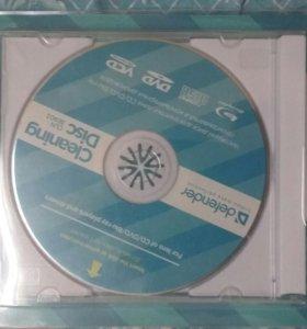 Диск dvd,cd,blue-ray,.... чистящий