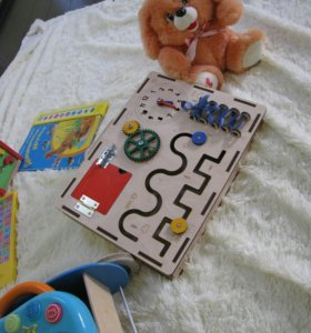 Бизиборд развивайка для детей.