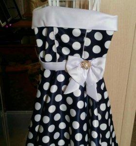 Платье праздничное на рост 116 см .