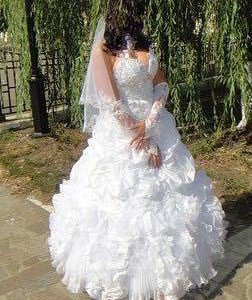 Свадебное платье р44-46-48