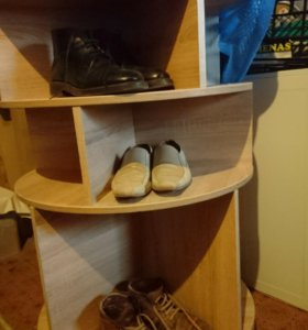 Поворотная тумба для обуви
