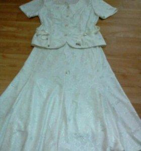 Костюм юбка-блузка