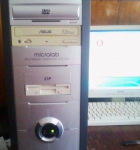 Системный блок 2.7 Ггц + GT9500 512Мб