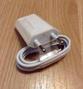 Оригинальное зарядное устройство для iPhone и iPad