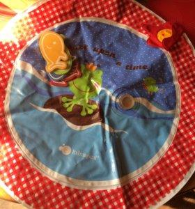 Матрасик водяной для игры малышей