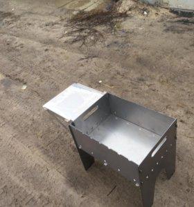 Разборный столик для мангала