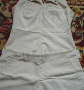 костюм блузка и шорты