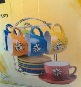 Чайный набор 12пр новый