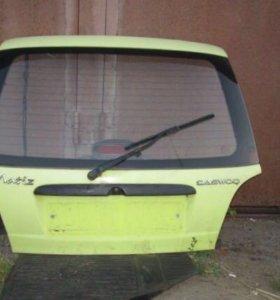 Крышка багажника на Део Матиз