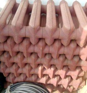Чугунные радиаторы отопления 35см 7секции