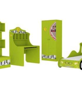 Мебель из серии Авто 3 цвет лайм