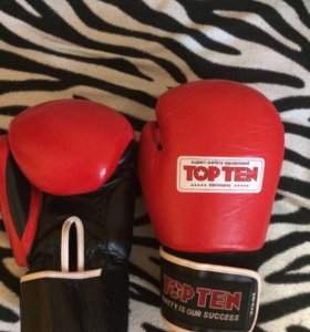 Перчатки для бокса.TOP TEN 10oz