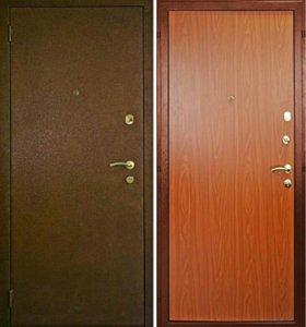 Металическая дверь эко1