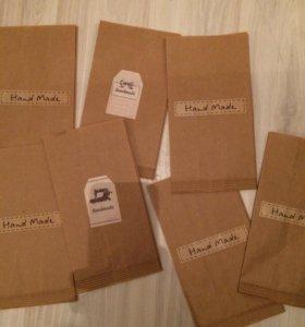 Наклейки и пакеты