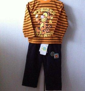 Новые футболка и брюки BabyGo