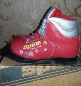Ботинки лыжные девочк
