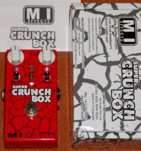 🎼 MI Audio Super Crunch Box Made in Australia