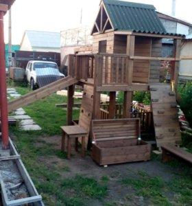 Детская игровая площадка (городок4)