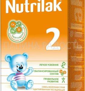 Смесь молочная сухая Nutrilak 2