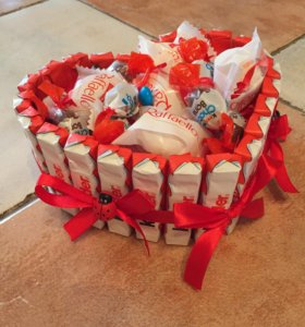 Тортик из киндеров