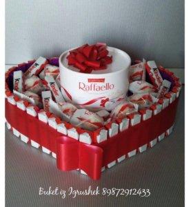 Тортики из киндеров