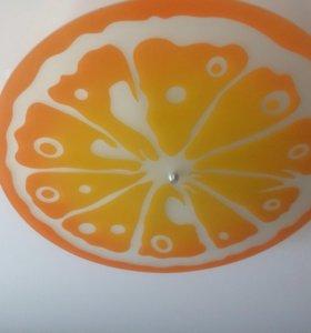 """Люстра """"Апельсин"""" AvantGarde + подарок часы наст."""