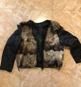 Подкладка в куртку из натурального меха