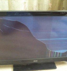 Телевизор AKAI на запчасти
