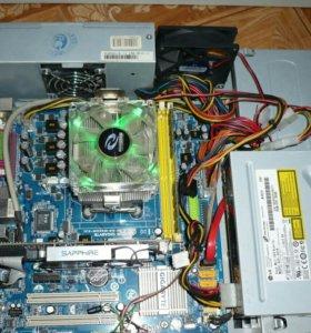 Компактный 4-х ядерный мощный игровой компьютер