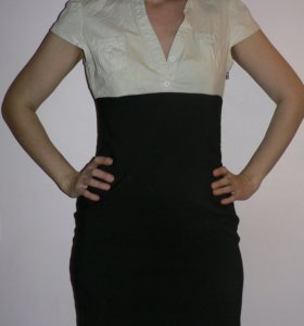 Платье 2 в 1 офисное