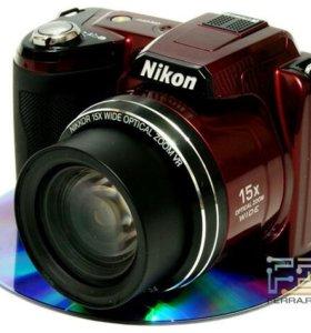 Фотo-рат Nikon Coolpix L830 на запчасти.