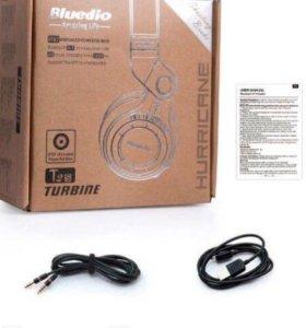Bluedio T2S Bluetooth наушники 40ч.музыки