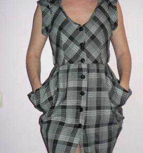Платье в клетку Concept