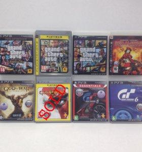 Игры 12 шт. на Sony PlayStation 3 PS3