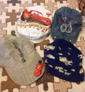 4 шапочки на лето на 2 года