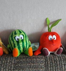 """Коллекция игрушек""""Фрукты-овощи"""" НОВЫЕ!"""