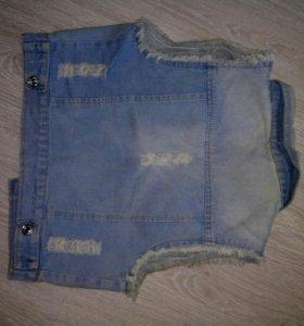 джинсовка,, шорты