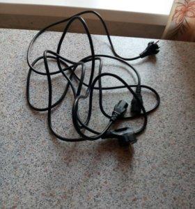 Продаю новые кабели питания от аппаратуры nad и a