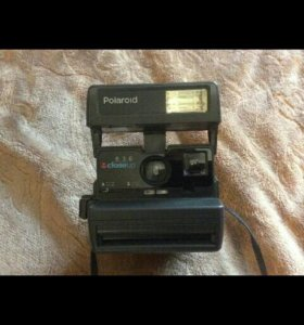 Фотоаппарат Polaroid Close up 636