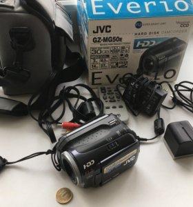 Видеокамера JVC Everio GZ-MG50