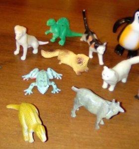 Животные - игрушки
