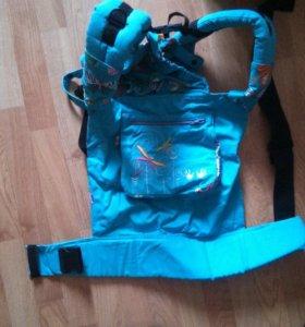 Слинг рюкзак ортопедический носить ребенка с собой